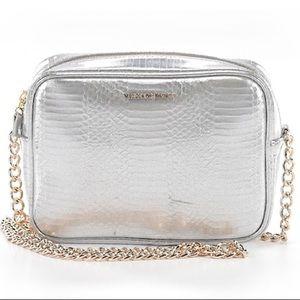 Victoria Secret Silver Crossbody Bag NEW
